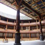 angol reneszánsz, a rekonstruált Globe Színház belső tere