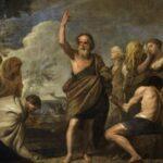 Jónás könyve - Jónás prédkiál Ninive lakóinak (Andrea Vaccaro festménye, részlet)