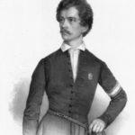 Petőfi (Barabás Miklós képén)